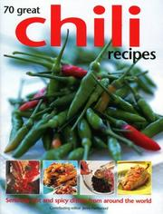 Cover of: 70 Great Chili Recipes | Jenni Fleetwood