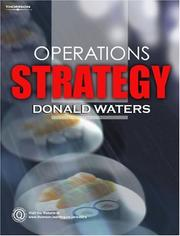Cover of: Operations Strategy