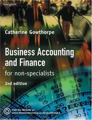 Cover of: Business Accounting and Finance