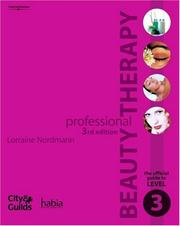Cover of: Professional Beauty Therapy