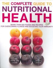 The Complete Guide to Nutritional Health by Pierre-Jean Cousin, Kirsten Hartvig