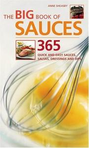 Cover of: The Big Book of Sauces | Anne Sheasby