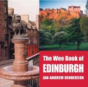 Cover of: The Wee Book Of Edinburgh