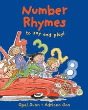 Cover of: Number Rhymes to Say and Play!