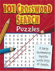 Cover of: 101 Crossword Search (101 Puzzle Books) | Top That