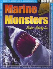 Cover of: Born Free Marine Monsters with Sticker | Gordon Volke