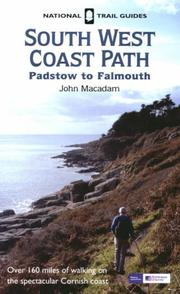 Cover of: Padstow to Falmouth (O/S National Trail Guides) | John Macadam