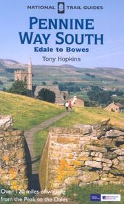 Cover of: Pennine Way South (National Trail Guides)