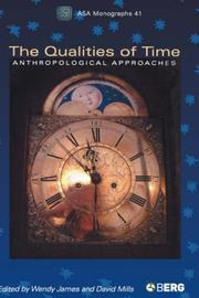 Cover of: The Qualities of Time |
