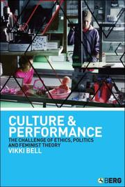 Cover of: Culture and Performance
