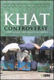 Cover of: The khat controversy