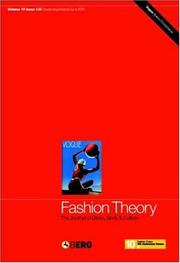 Fashion Theory, Volume 10, Issues 1 & 2