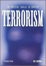 Cover of: Terrorism | Stephen Sloan
