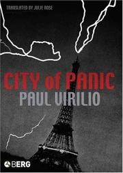 Cover of: City of Panic (Culture Machine)