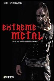 Cover of: Extreme Metal | Kahn-Harris, Keith