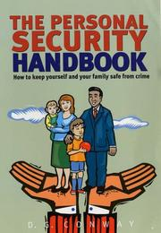 Cover of: The Personal Security Handbook | D. G. Conway