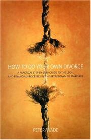 Cover of: How to Do Your Own Divorce