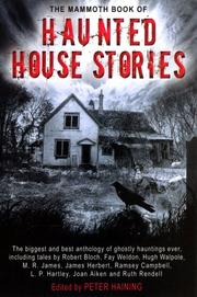 Cover of: The Mammoth Book of Haunted House Stories