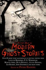 Cover of: The Mammoth Book of Modern Ghost Stories
