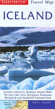 Cover of: Iceland Travel Map