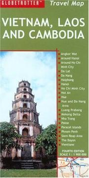 Cover of: Vietnam, Laos and Cambodia Travel Map | New Holland Publishers (UK) Ltd.