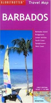 Cover of: Barbados Travel Map