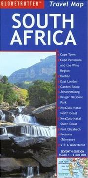 Cover of: South Africa Travel Map | New Holland Publishers (UK) Ltd.