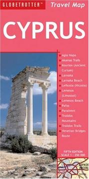 Cover of: Cyprus Travel Map