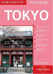 Cover of: Tokyo Travel Pack (Globetrotter Travel Packs) | Sue Thompson