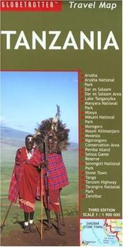 Cover of: Tanzania Travel Map