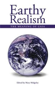 Cover of: Earthy Realism