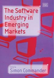 Cover of: The Software Industry in Emerging Markets