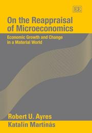 Cover of: On the reappraisal of microeconomics