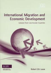 Cover of: International Migration And Economic Development