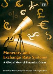 Cover of: Monetary And Exchange Rate Systems | Louis-Philippe Rochon
