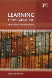 Cover of: Learning from Exporting
