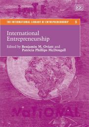 International Entrepreneurship (Teh International Library of Entrepreneurship)