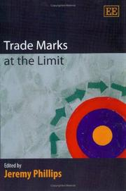 Cover of: Trade Marks at the Limit
