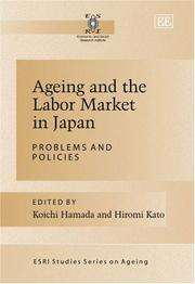 Cover of: Ageing and the labor market in Japan |