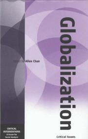 Cover of: Globalization |