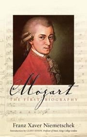 Cover of: Mozart | Franz Niemetschek