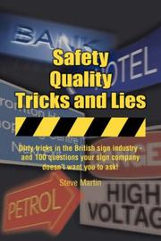 Cover of: Safety, Quality, Tricks and Lies