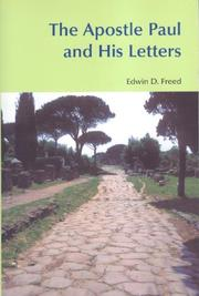 Cover of: The Apostle Paul and his letters