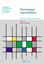 Cover of: Phonological Argumentation
