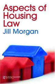 Cover of: Housing Law