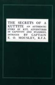 Cover of: Secrets of a Kuttite | E. O. Mousley