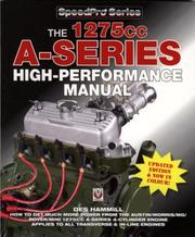 Cover of: 1275cc A-Series High-Performance Manual (Speedpro Series)