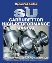 Cover of: The SU Carburettor High-Performance Manual (Speedpro)