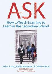 Cover of: Ask (Attitudes, Skills, Knowledge) | Julient Strang