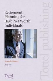 Cover of: Retirement Planning for High Net Worth Individuals